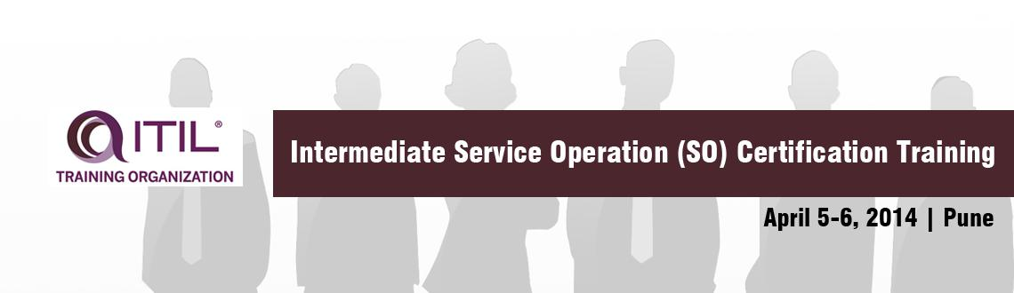 Itil Intermediate Service Operation So Certification Training Pune