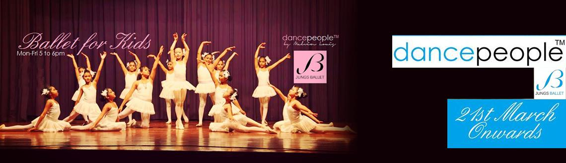 Ballet and Contemporary with Jungs Ballet, Korea @ Dancepeople 21st March onwards