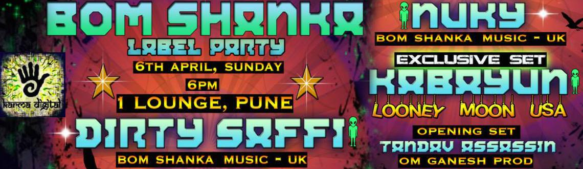 Bom Shanka Music  L.A.B.E.L- P.A.R.T.Y6th April-1lounge-Pune-Sunday
