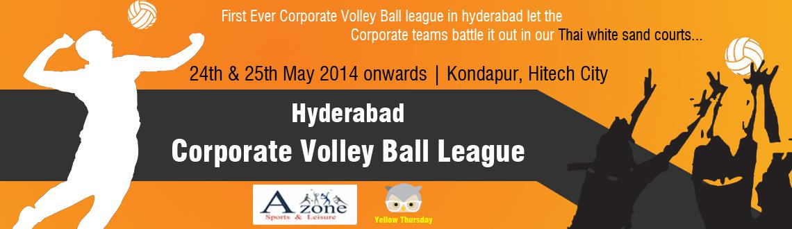 Hyderabad Corporate Volley Ball League