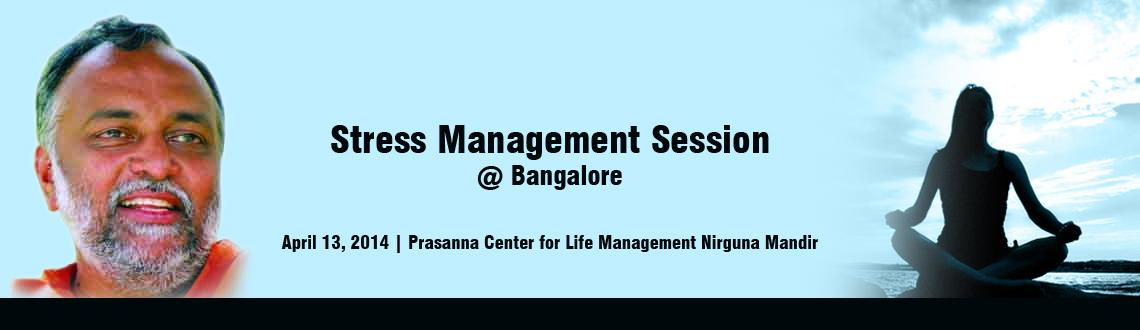 Stress Management Session @ Bangalore