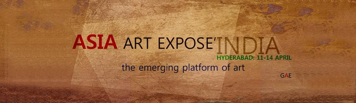"Book Online Tickets for Asia Art Expose India, Hyderabad. World Art Expose' presents the first ever ""ASIA ART EXPOSE':HYDERABAD, India"" bringing the best selected artworks to HYDERABAD by top emerging artists from around the world for everyone to enjoy. Giving Art Collector"
