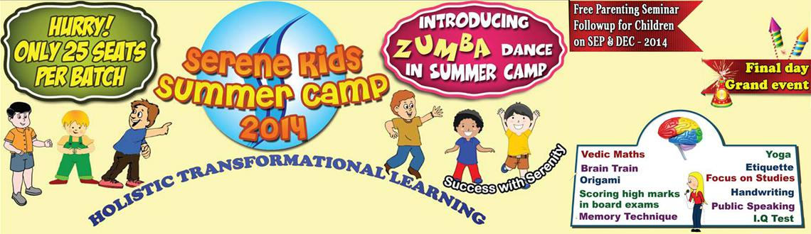 Serenekids Summer Camp 2014 - Annanagar