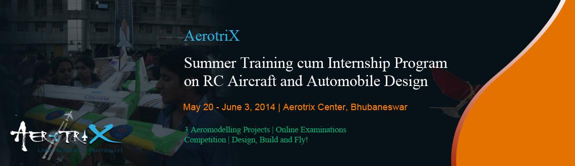 Summer Training cum Internship Program on RC Aircraft and Automobile Design at Bhubaneswar