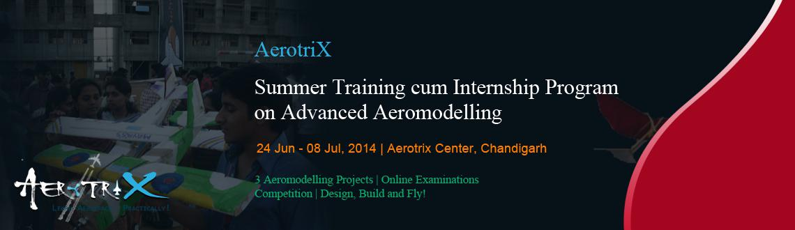 Summer Training cum Internship Program on Advanced Aeromodelling at Chandigarh