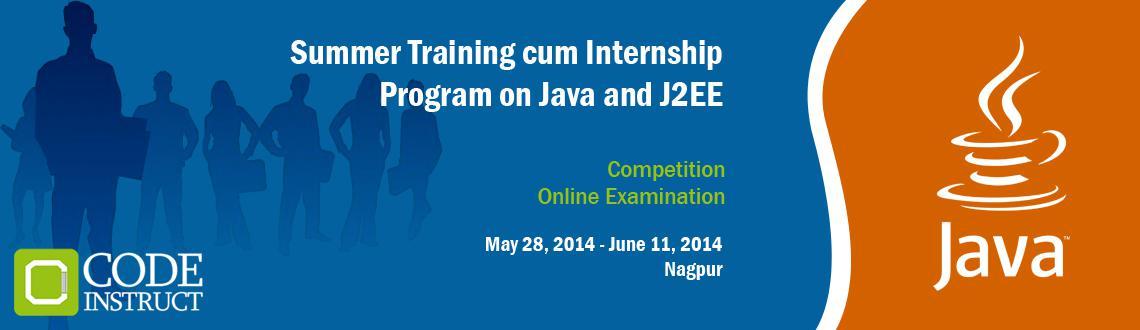 Summer Training cum Internship Program on Java and J2EE at Nagpur