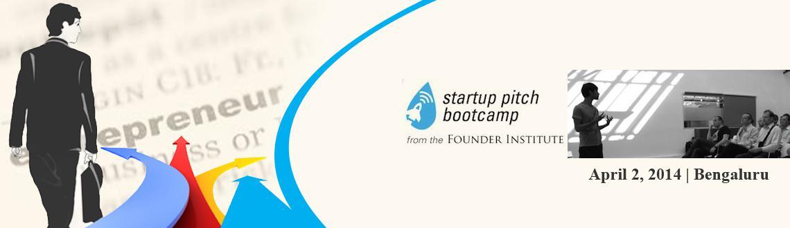 Bangalore Startup Pitch Bootcamp