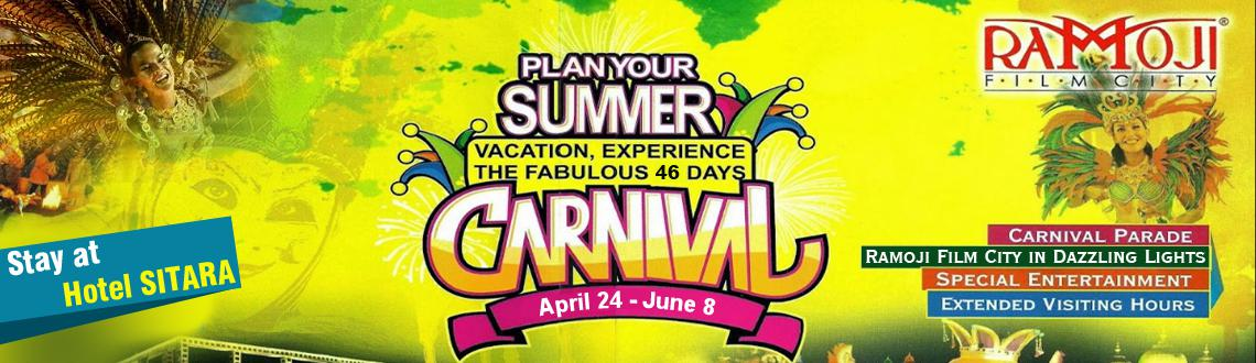 Stay Package at Hotel Sitara - Summer Carnival 2014 at RFC