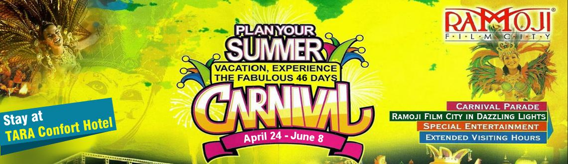 Stay Package at Tara Comfort Hotel - Summer Carnival 2014 at RFC