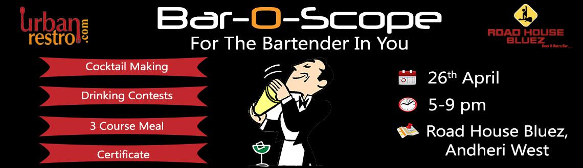 Urbanrestro.com presents Bar-O-Scope|For The Bartender In You