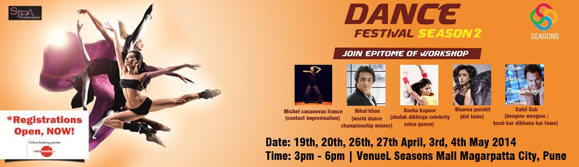 Book Online Tickets for Dance Festival Season -2, Pune. Dance Festival Season -2