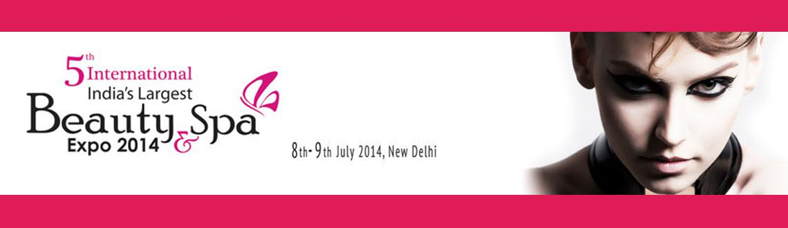 5th International Beauty and Spa Expo 2014 at Delhi
