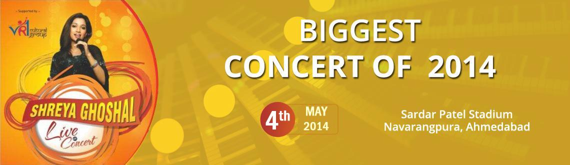 Shreya Ghoshal Live in Concert 2014 at Ahmedabad
