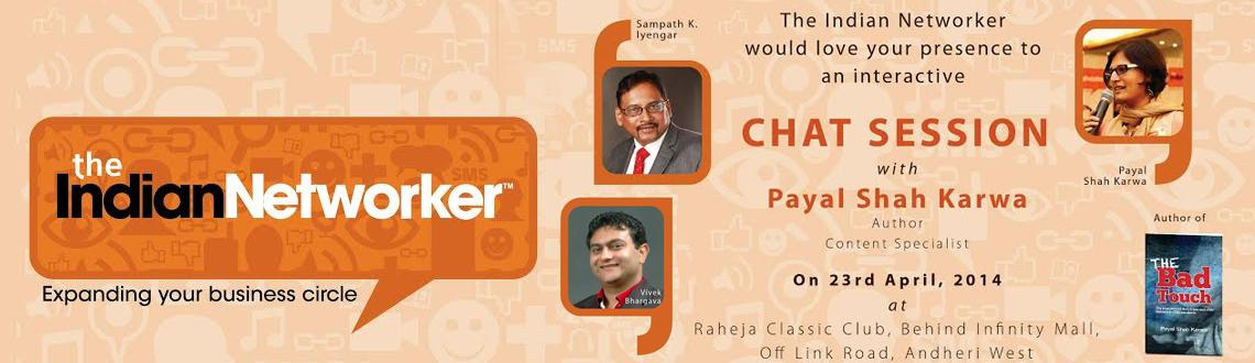 The Indian Networker meetup VII with Payal Shah Karwa and Vivek Bhargava