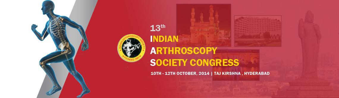 13th Indian Arthroscopy Society Congress