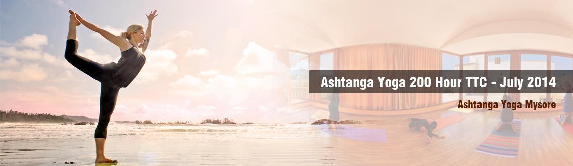 Ashtanga Yoga 200 Hour TTC - July 2014