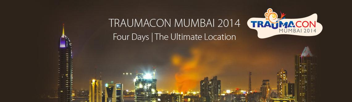Book Online Tickets for Traumacon Mumbai 2014, Mumbai. Traumacon Mumbai again this year will be the conference to watch and experience. We have always been thinking about our friends and delivering practical aspects of trauma to solve our day to day operative problems. This year we start on Thursday, 14t