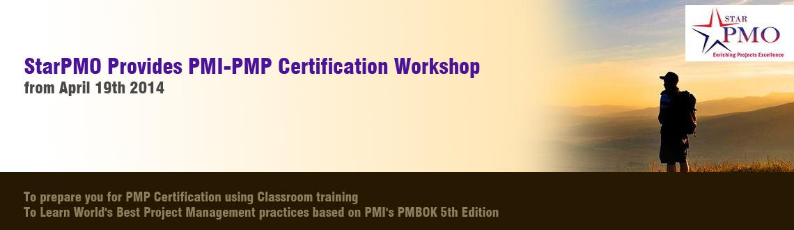 StarPMO Provides PMI-PMP Certification Workshop in Pune starting from 19th April 2014