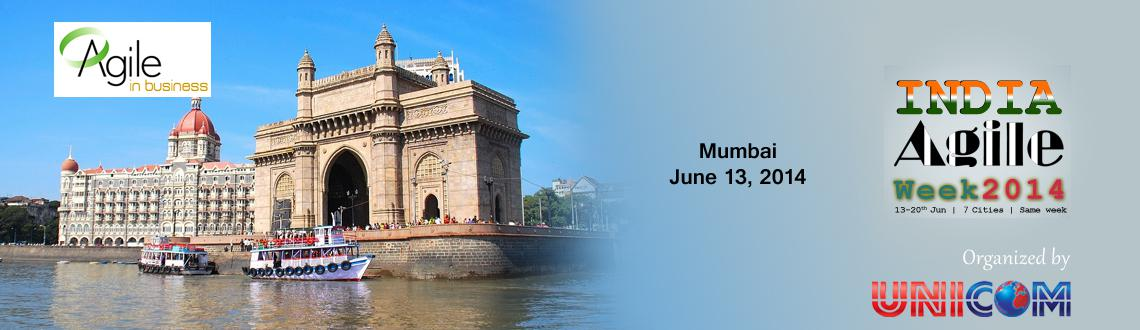 Book Online Tickets for India Agile Week 2014 Mumbai, Mumbai. ABOUT THE CONFERENCE'India Agile Week 2014' is an extraordinary conference series featuring over 100+ Presentation, exploring the depth and breadth of Agile software development across all practices, and perspectives.Theme for 'Indi