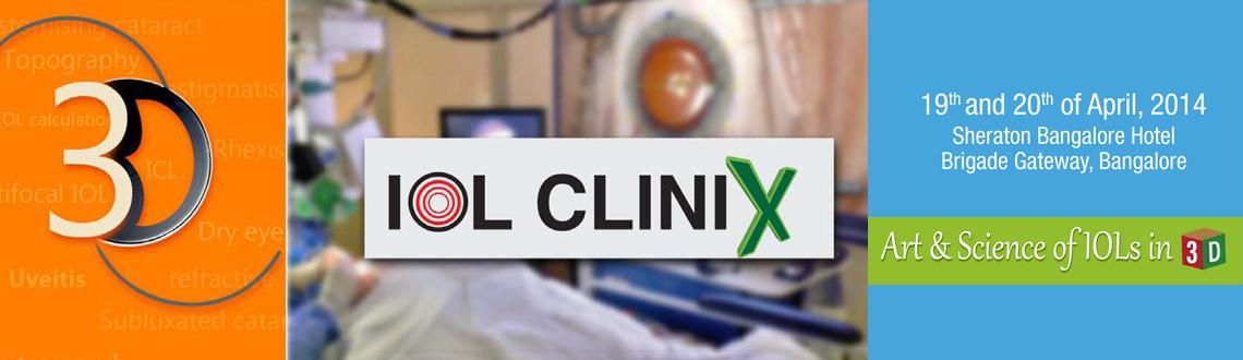 Book Online Tickets for IOL CLINIX, .