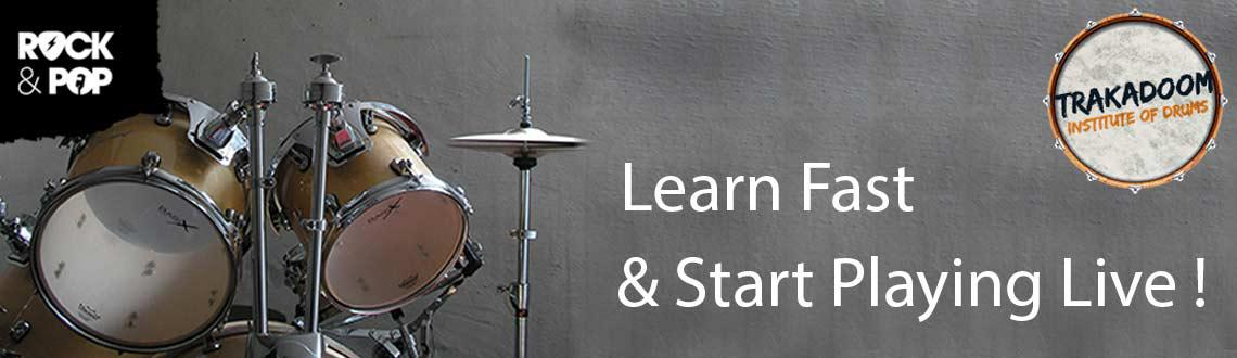 Book Online Tickets for Beginners Drum Workshops by Franco Vaz, Mumbai. Learn Drums at Mumbai\\\'s Number 1 Drum School Trakadoom Institute of Drums and Percussionis amongst the bestdrum school in Mumbaiin Mumbai dedicated to the art of learning drums and percussion. Headed byFranco Vaz,one