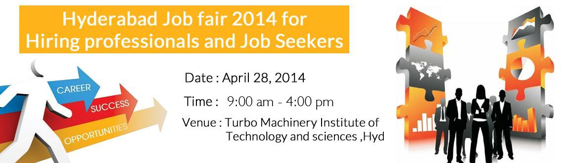 Hyderabad Job fair 2014 for Hiring professionals and Job Seekers