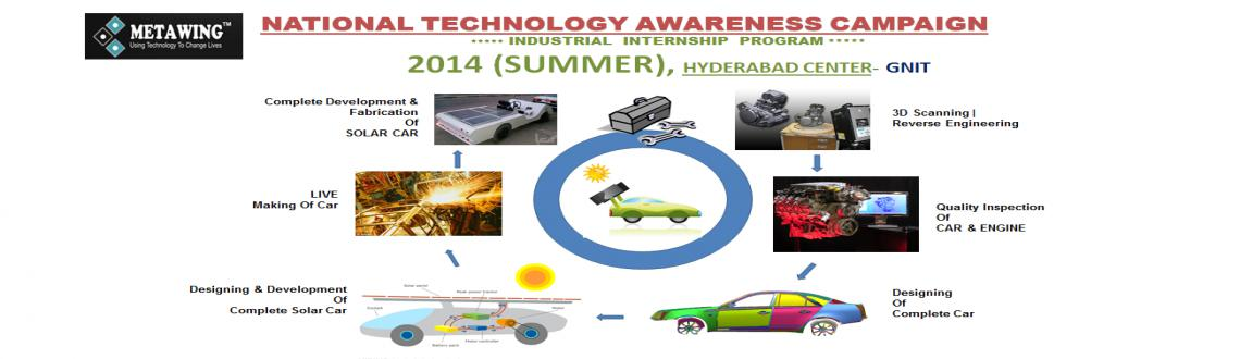 Industry Internship Program 2014 (Summer) Hyderabad