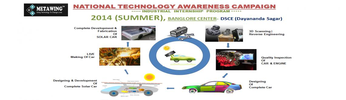 Industry Internship Program 2014 (Summer) Bangalore