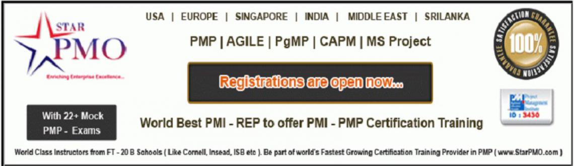 Book Online Tickets for PMP Training in Pune Stars From May 17th, Pune.   PMP Certification Workshop on MSP 2010 StarPMO is pleased to announce its upcoming PMP Certification Training program at Pune based on Project Management Body of Knowledge (PMBOK) 5thEdition. Workshop Dates:17th, 18th&nb