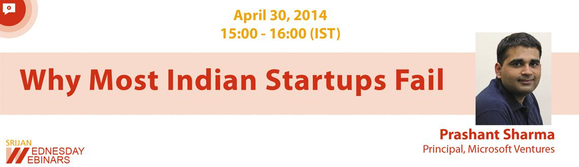 Free Webinar Why Most Indian Startups Fail