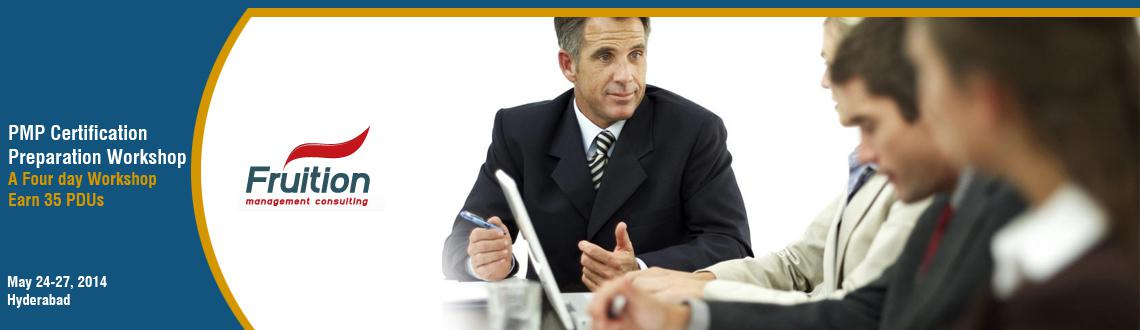 Book Online Tickets for PMP Certification Preparation Workshop: , Hyderabad. About the Course This four-day course is essential for every professional who want to delve into the world of professional project management and become a certified Project Management Professional (PMP)® from the world renowned Project Managemen