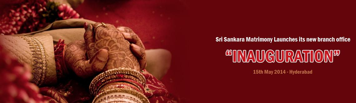 Sri Sankara Matrimony Proudly Launches new office at  Hyderabad, Andhra Pradesh