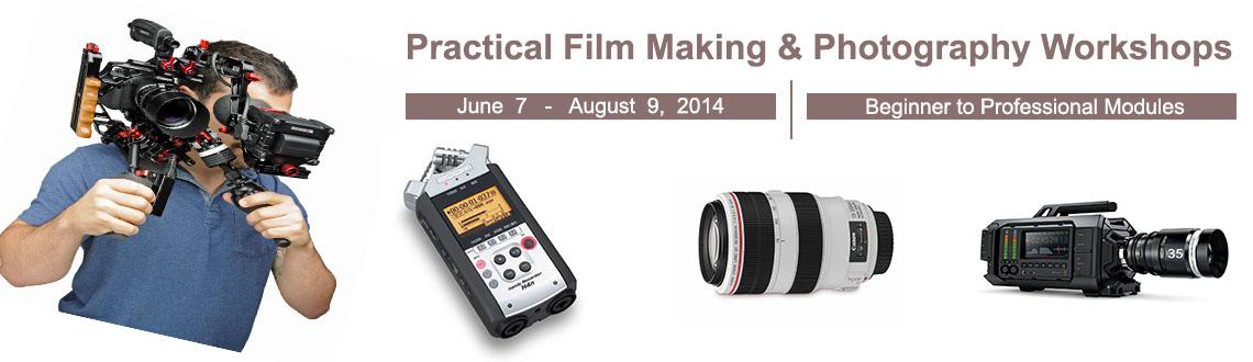 Practical Film Making  Photography Workshops