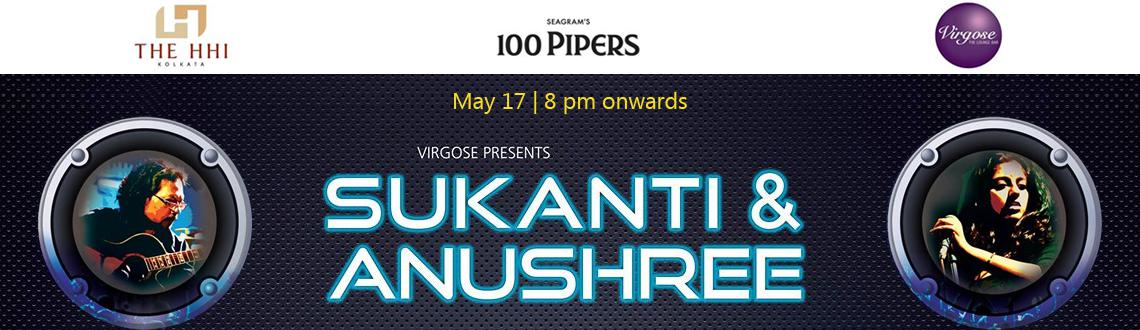 Book Online Tickets for SUKANTI  ANUSHREE Live , Kolkata. Profile:  'Sukanti & Anushree\\\' is an Electro-Acoustic Duo based in Kolkata with a singer songwriter at its heart. Recently the duo launched their debut album titled \\\'Ashmaan\\\' comprising eight original compositions and was n