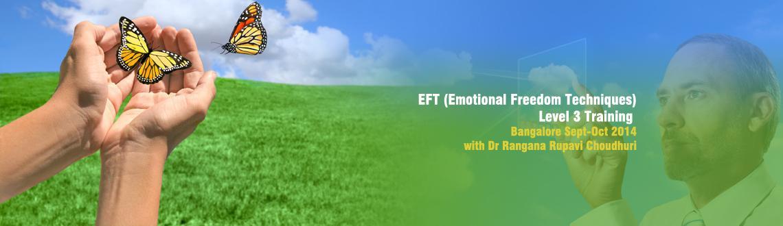 EFT (Emotional Freedom Techniques) Level 3 Training Bangalore Sept-Oct 2014 with Dr Rangana Rupavi Choudhuri
