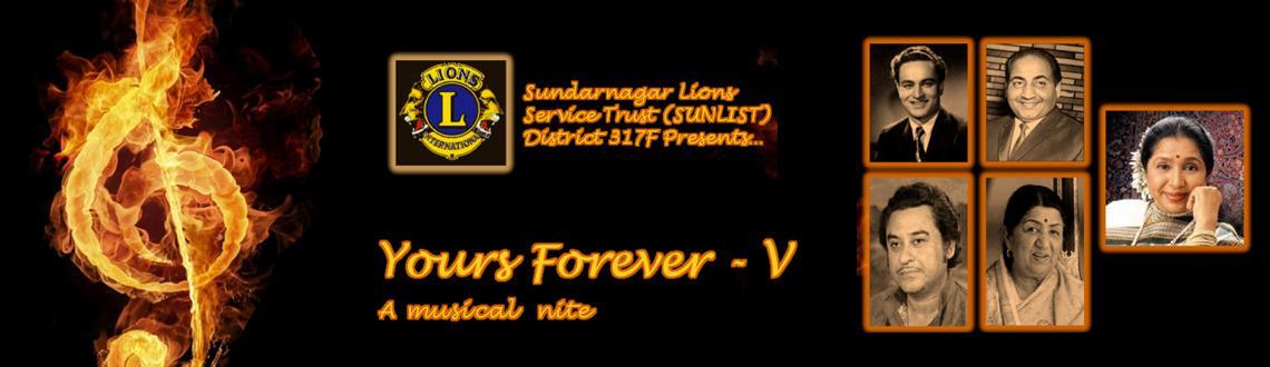 Yours Forever - V
