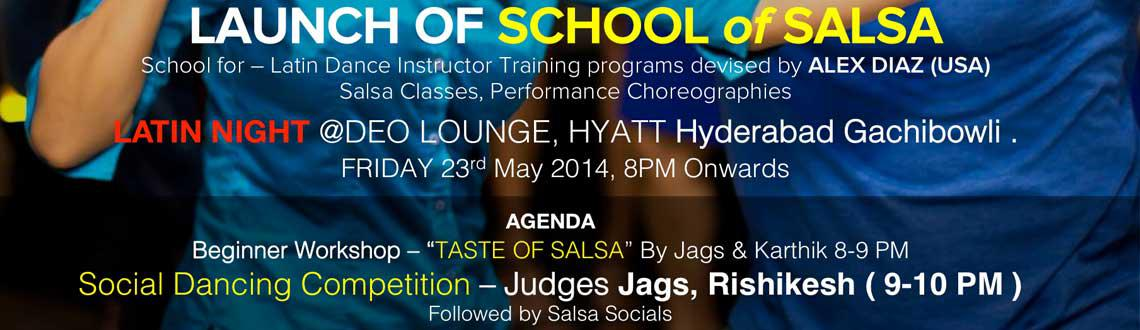 School of Salsa Launch