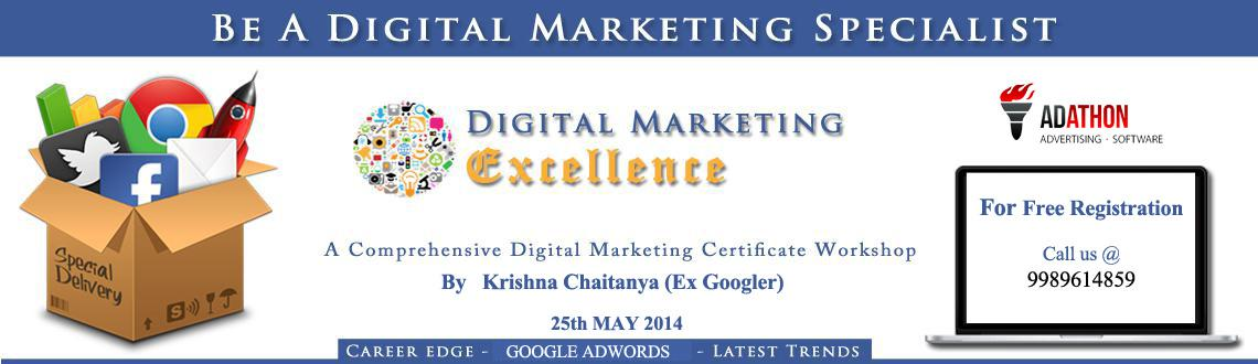 Digital Marketing Certificate Workshop Hyderabad Meraevents