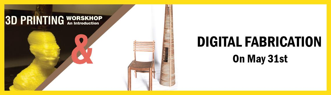 Book Online Tickets for 3DPrinting  Digital Fabrication, Hyderabad. 3DPrinting & Digital Fabrication