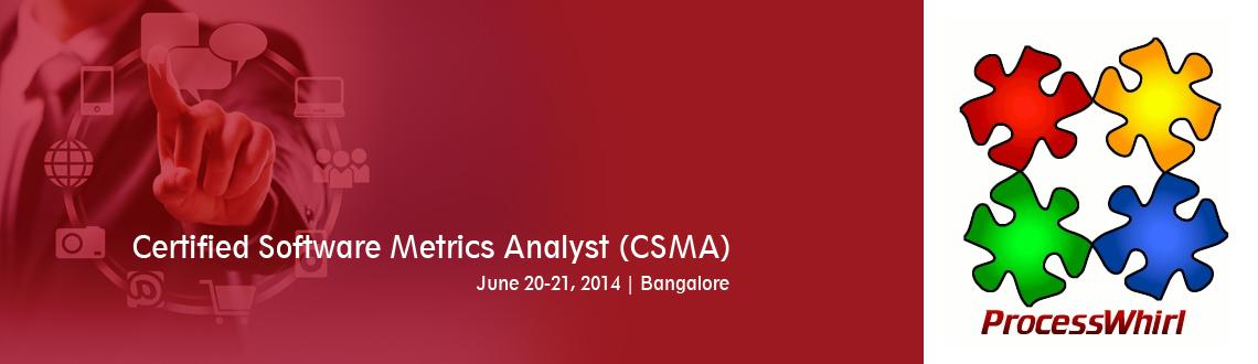 Certified Software Metrics Analyst (CSMA)
