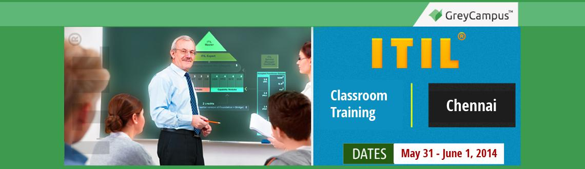 Book Online Tickets for ITIL Foundation training in Chennai, Chennai. ITIL® Foundation Training Chennai