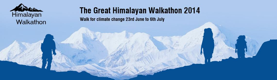 Book Online Tickets for The Great Himalayan Walkathon 2014, Manali. The Great Himalayan Walkathon 2014:   Walk for climate change from 23rd June to 6th July 2014  Fulfil your dream of experiencing the true beauty of nature by joining us for a life changing experience of a 200km in 12 days. the great H