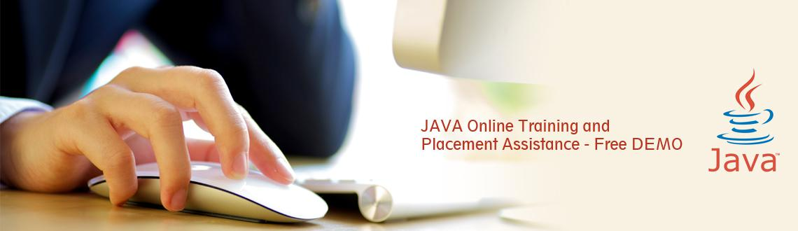 JAVA Online Training and Placement Assistance - Free DEMO