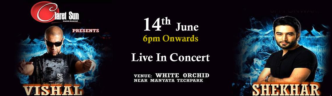 Vishal and Shekhar Live in Concert