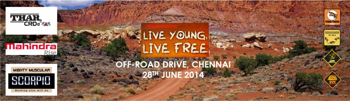 Mahindra LIVE YOUNG, LIVE FREE Offroad Drive