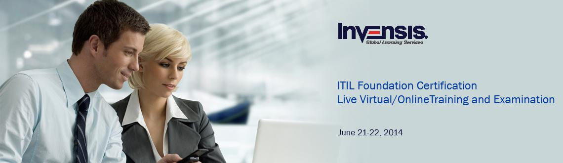 Book Online Tickets for ITIL Foundation Certification Live Virtu, NewDelhi. Invensis Learning is conducting 2-day full-time TUV-SUD Accredited ITIL Foundation Certification Live Virtual Training in Delhi, India delivered through Cisco WeBex. This is your chance to get ITIL Foundation Certified in only two days. Attend our IT