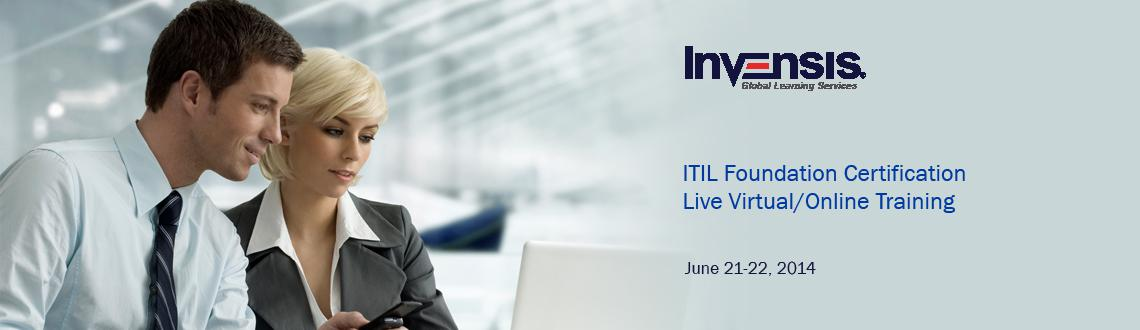 ITIL Foundation Certification Live Virtual/Online Training in Bangalore, India