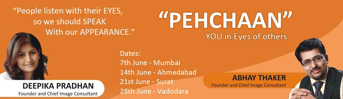 "Book Online Tickets for PEHCHAAN, YOU in the Eyes of Others  (Mu, Mumbai. Image Mantra & Image Palette are glad to introduce the most unique and one of it's kind Workshop in India…""PEHCHAAN, YOU in the Eyes of Others"" by Certified Image Consultants and Corporate Trainers. Please visit&nbsp"