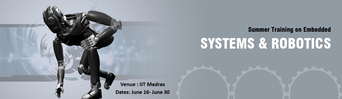Book Online Tickets for Summer Training Program at IIT Madras, Chennai. 