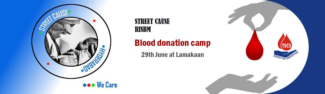 Book Online Tickets for Blood Donation Camp in Hyderabad, Hyderabad. \\\